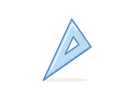Triangle ruler A
