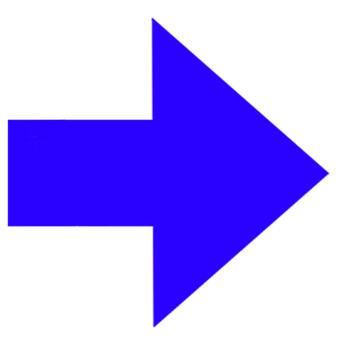 矢印 カーソル 青03