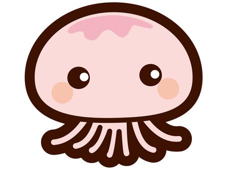 Illustration of jellyfish