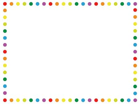Colorful decorative frame 1