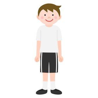 Men of gym uniform