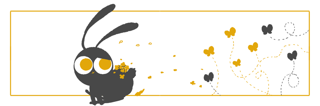 Black rabbit header