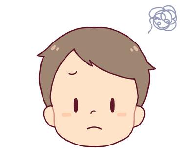Facial expression - puzzle (boy)