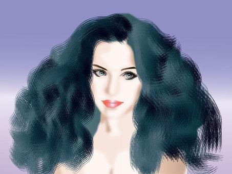 Long hair girl 02