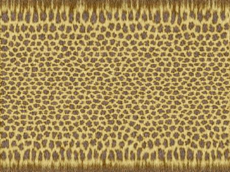 Realistic leopard print texture wallpaper material