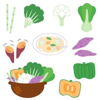 Vegetable set (Okinawa's orientation)