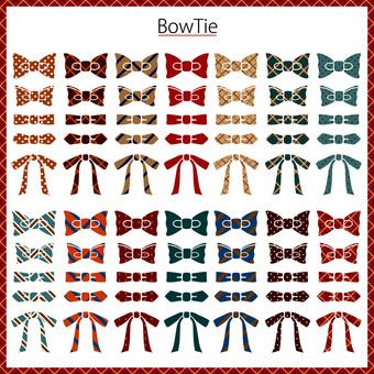 Bow tie bow tie set 3