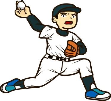 소년 야구 투수