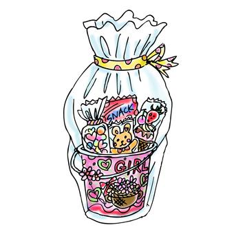 Girls sweets set