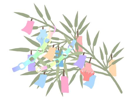 Tanabata bamboo grass