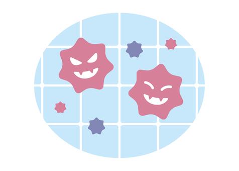 Tile pink slime