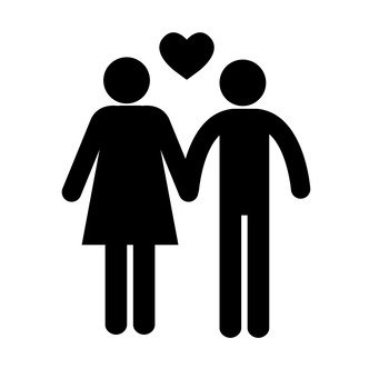 Pictogram (couple)