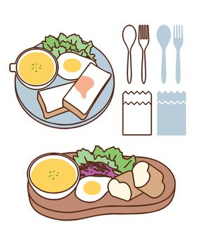 Plate rice