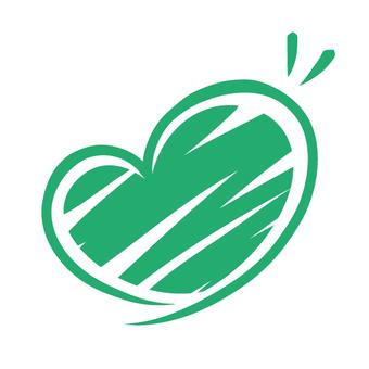 Heart line · green · rough