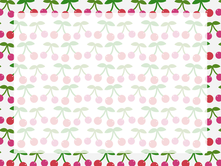 A lot of cherries background 2