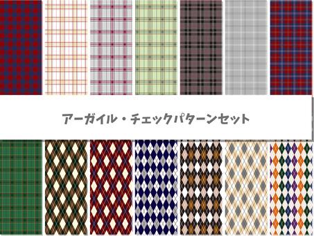 Pattern material set
