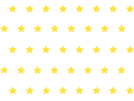 Mini star pattern (yellow)