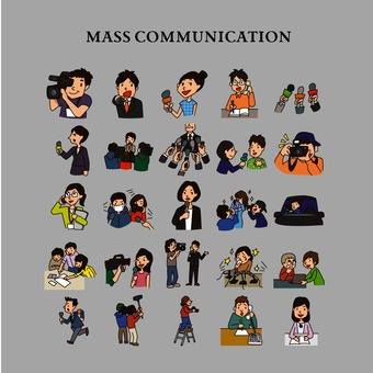 Media illustration pack