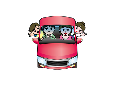 Driving with family and car (1)