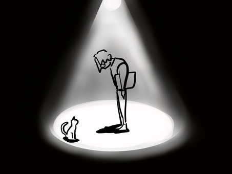 Broken heart broken spotlight