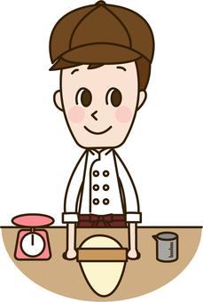 Male staff who cook (Staff 11)
