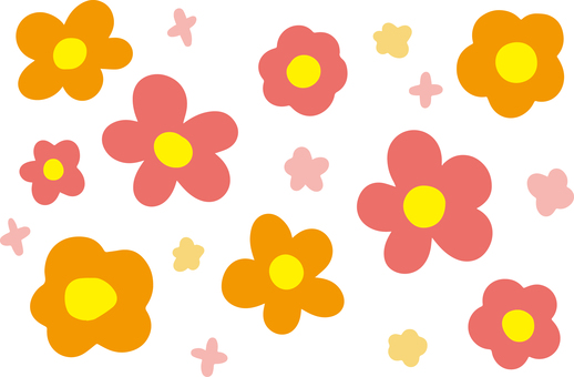 Flower pattern (an irregularity)