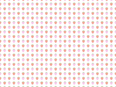 Strawberry (Small) Pattern Background Dot Picture