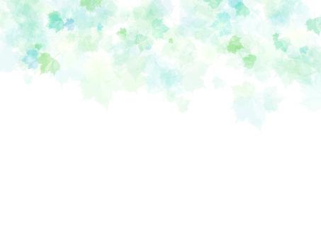 Plant-leaf frame