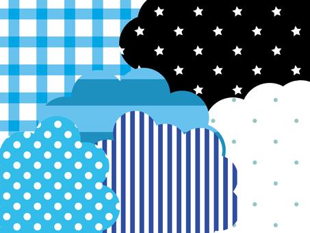 Other frame 28 _ cloud _ cloud _ polka dot