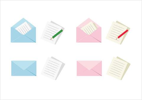 Letter set 1