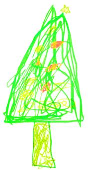[Hand Drawing] Christmas Tree