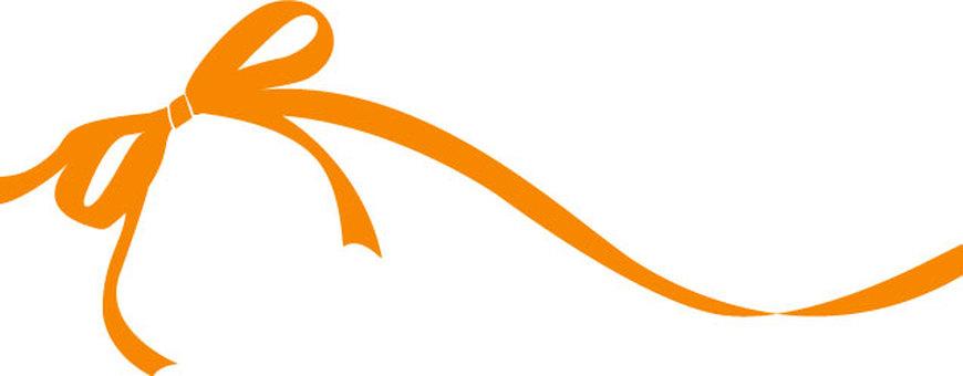 Ribbon Orange