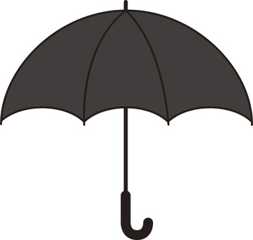 Umbrella (black · black)