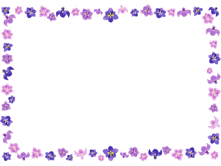 Shouchu flower frame