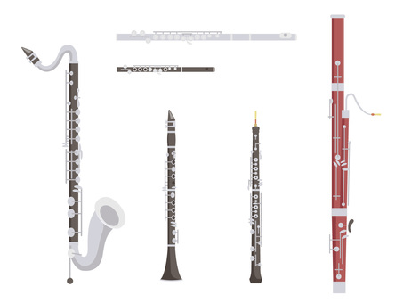 Various instruments _ woodwind instruments