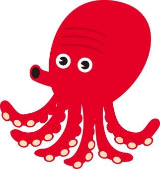 Octopus Characters Seafood Seafood Seafood