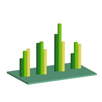 Three-dimensional bar chart 3