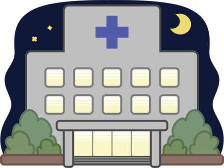 醫院 - 晚上