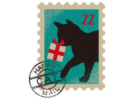 Cat's stamp 001