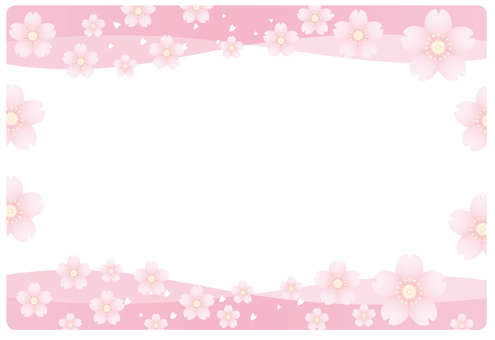 Sakura pink frame (2)