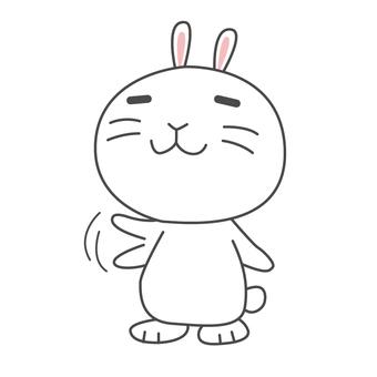 Yuru Chara Usagi-chan Bye Bye