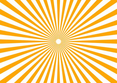 Radiation fine Orange