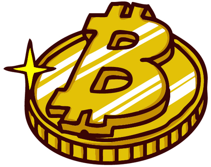 Bit coin illustration