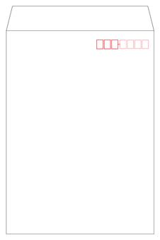 Corner 2 Envelope White