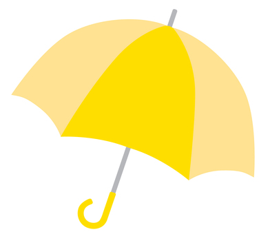 Umbrella 01 yellow