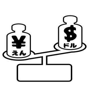 Balance of yen appreciation