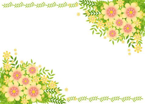 장식 예쁜 노란 꽃다발 5