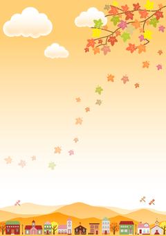 Fall image material 134