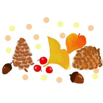 Fruit of autumn tree