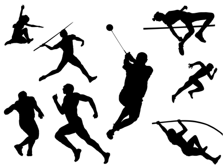 Athletics silhouette